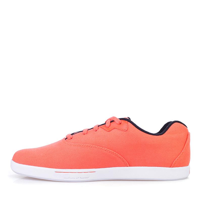 Купить мужские оранжевые, белые  кроссовки k1x cali в магазинах Streetball изображение - 3 картинки