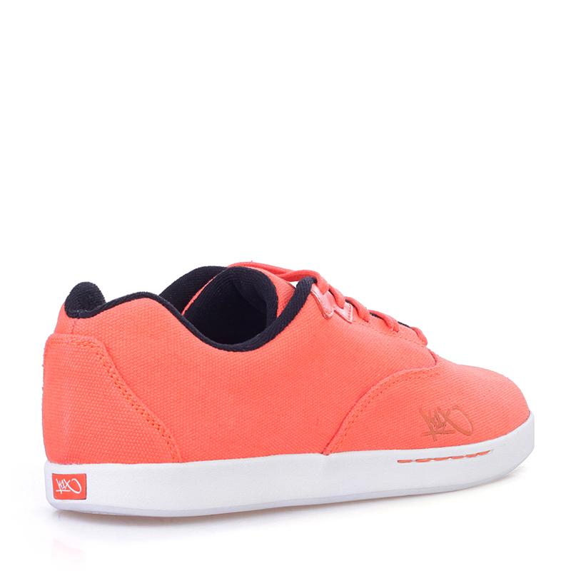 Купить мужские оранжевые, белые  кроссовки k1x cali в магазинах Streetball изображение - 2 картинки