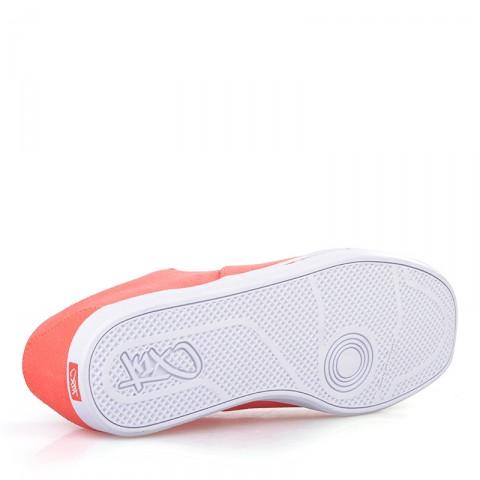 Купить мужские оранжевые, белые  кроссовки k1x cali в магазинах Streetball - изображение 4 картинки