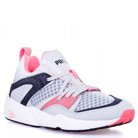 Купить мужские серые, чёрные, коралловые  кроссовки puma blaze of glory trinomic в магазинах Streetball - изображение 1 картинки