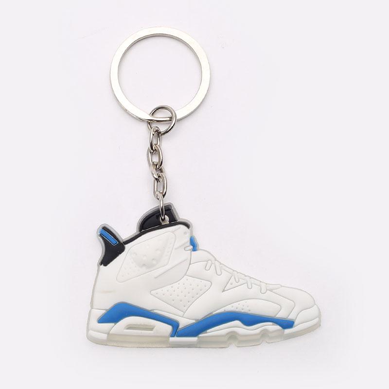белый, синий  брелок без бренда aj 6 №21-AJ6-wht/navy - цена, описание, фото 1
