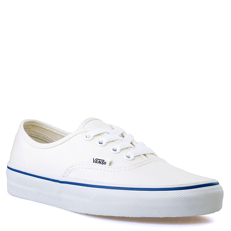 Купить мужские белые  кеды vans authentic в магазинах Streetball изображение - 1 картинки