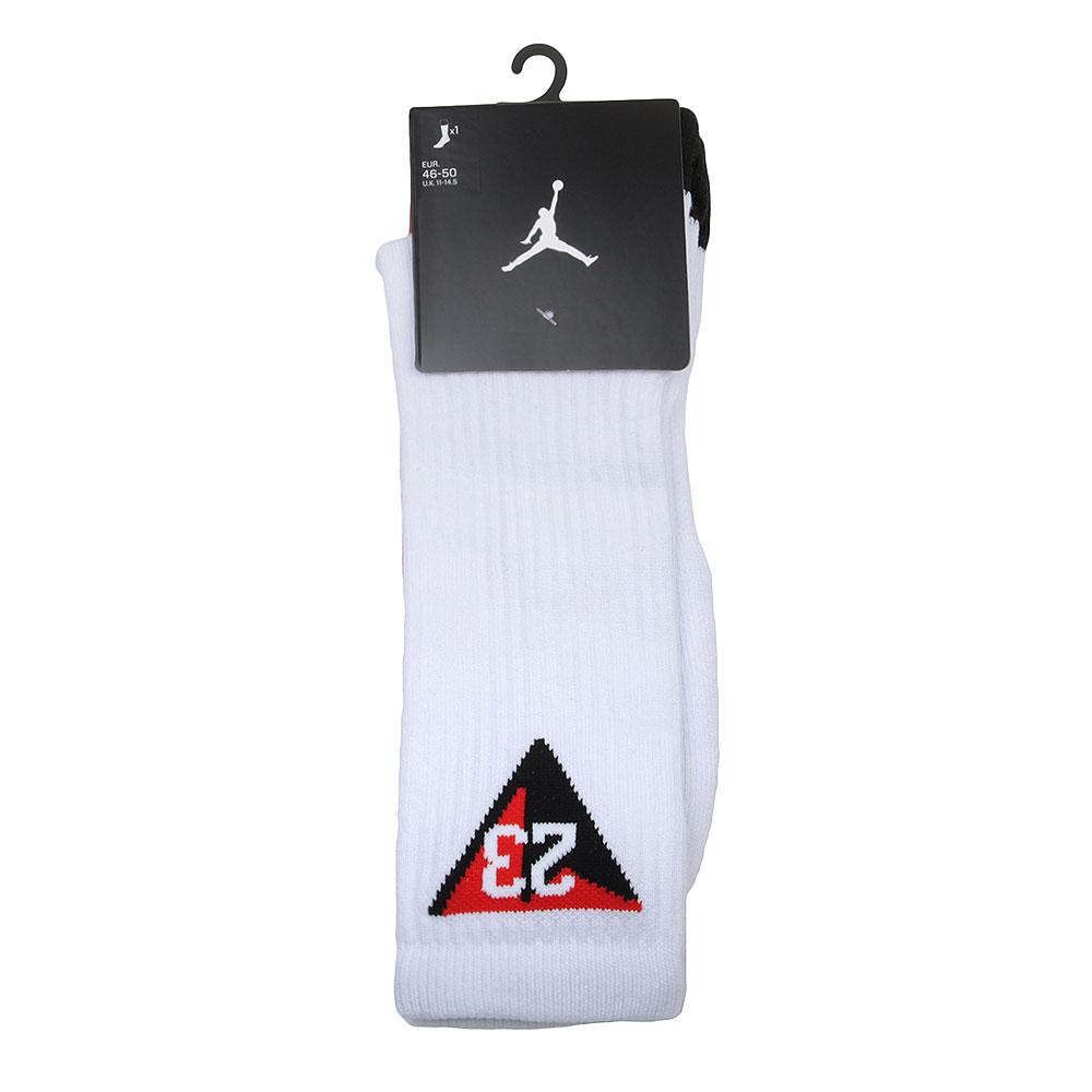 Носки JordanНоски<br>Полиэстер, нейлон, хлопок, эластан<br><br>Цвет: Белый, красный, черный<br>Размеры US: XL<br>Пол: Мужской
