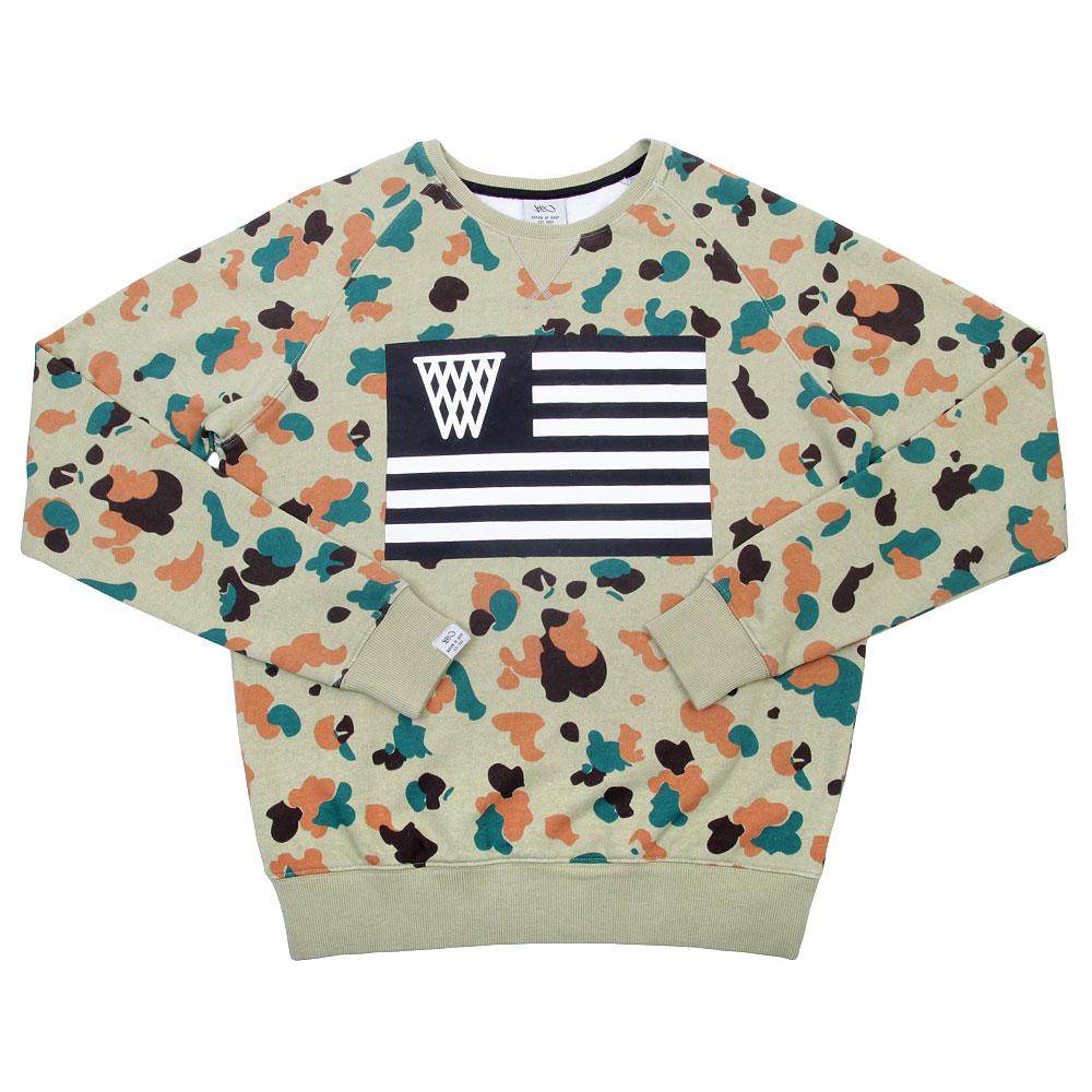 Купить Толстовки свитера Толстовка K1x Pacific NOH Flag Crewneck  Толстовка K1x Pacific NOH Flag Crewneck