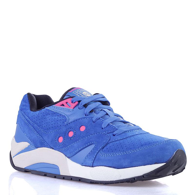 Купить мужские синие  кроссовки  saucony g9 control в магазинах Streetball изображение - 1 картинки