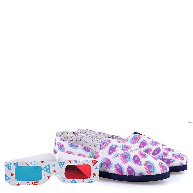женские белые, голубые, розовые  эспадрильи paez invisible fitted-blink 113INV-Blink - цена, описание, фото 2