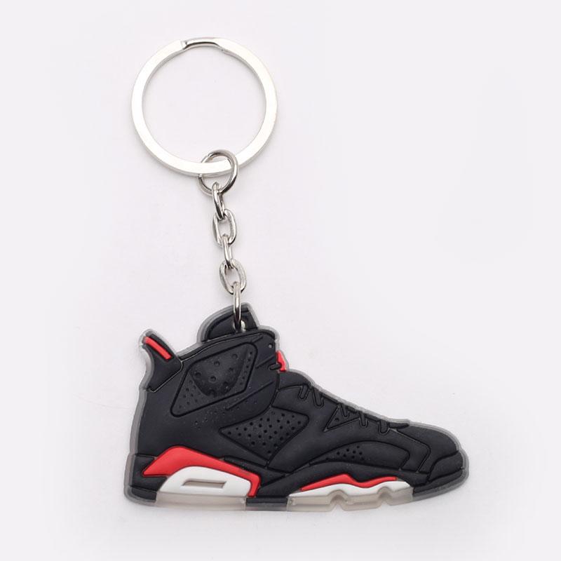 черный, белый, красный  брелок без бренда aj 6 №53-AJ6-blk/infr - цена, описание, фото 1