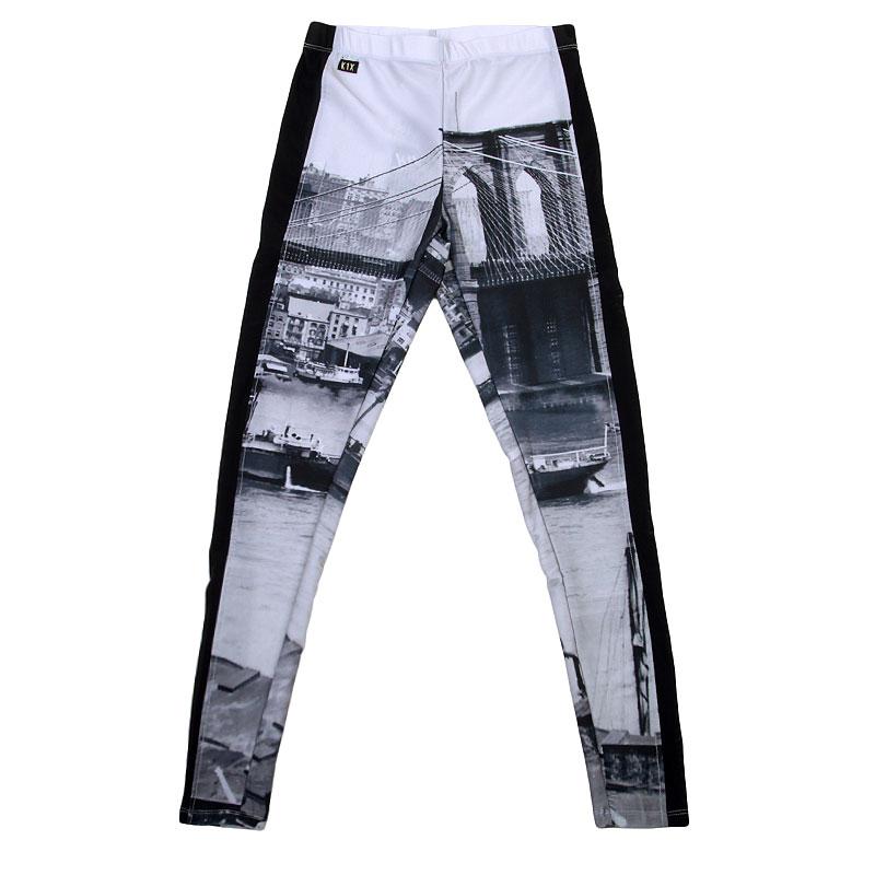 Леггинсы K1x wmns Allover Diamond LeggingsБрюки и джинсы<br>Полиэстер, эластан<br><br>Цвет: Черный, белый<br>Размеры US: XS<br>Пол: Женский