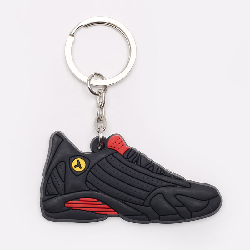 черный, красный  брелок без бренда aj 14 №31-AJ14-blk/red - цена, описание, фото 1