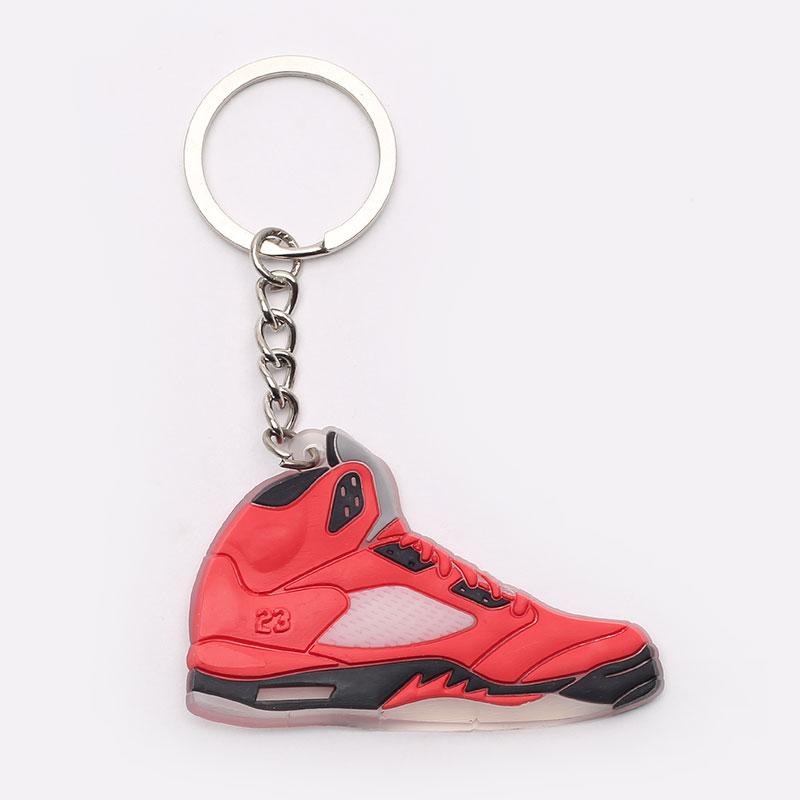 красный  брелок без бренда aj 5 №13-AJ5-red - цена, описание, фото 1