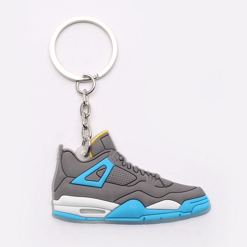 серый, голубой  брелок без бренда aj 4 №20-AJ4-grey/blue - цена, описание, фото 1