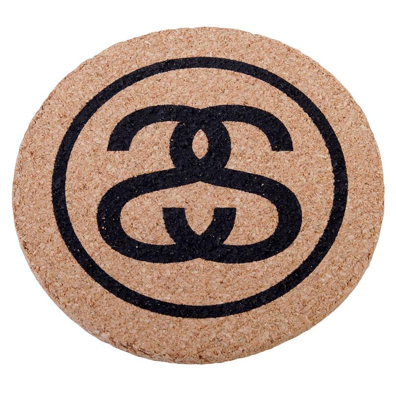 Купить коричневые  подставки stussy ss link coasters в магазинах Streetball изображение - 1 картинки