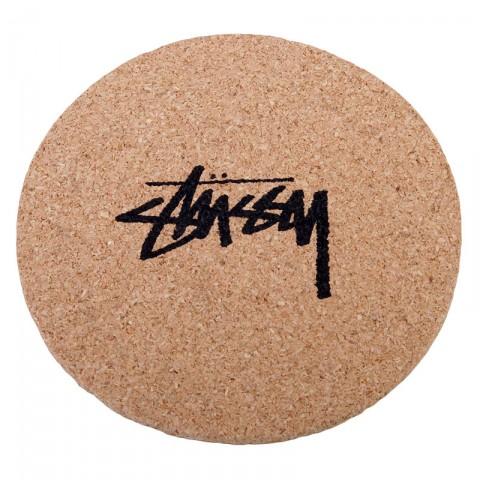 Купить коричневые  подставки stussy ss link coasters в магазинах Streetball - изображение 2 картинки