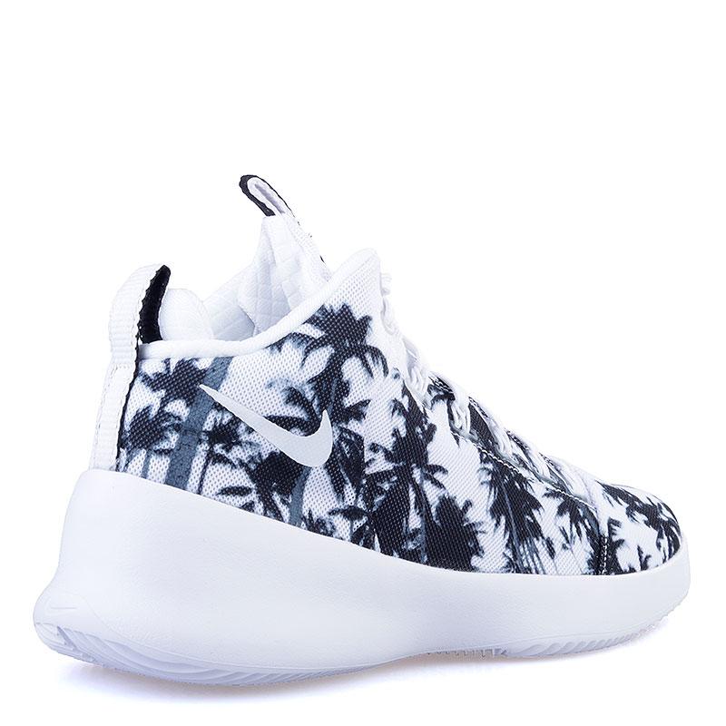Купить мужские белые, черные  кроссовки nike hyperfr3sh qs в магазинах Streetball изображение - 2 картинки