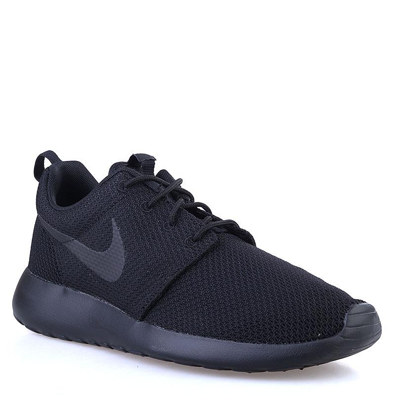 Кроссовки Nike sportswear Roshe OneКроссовки lifestyle<br>Текстиль, синтетика<br><br>Цвет: Черный<br>Размеры US: 11.5;15<br>Пол: Мужской