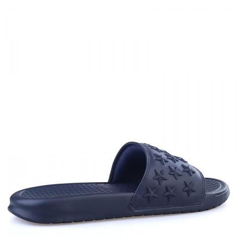 мужские синие  сланцы nike benassi jdi qs 807909-444 - цена, описание, фото 2