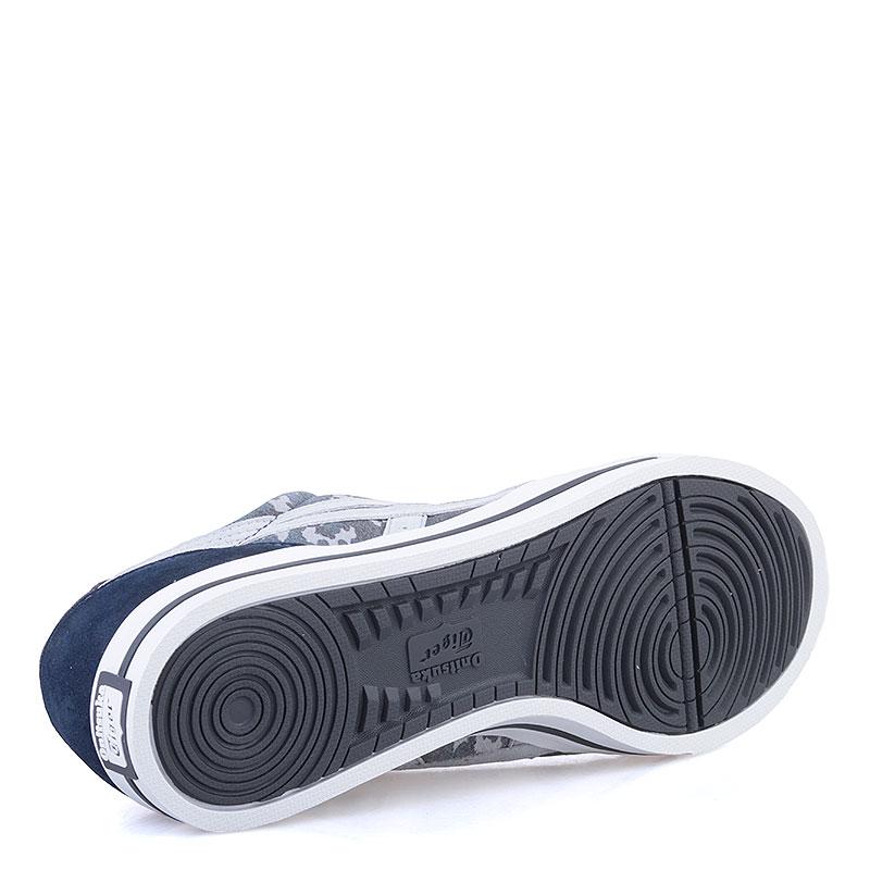 Купить мужские синие, серые  кроссовки onitsuka tiger aaron в магазинах Streetball изображение - 4 картинки