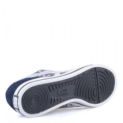 Купить мужские синие, серые  кроссовки onitsuka tiger aaron в магазинах Streetball - изображение 4 картинки