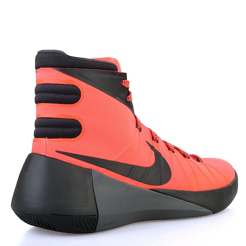 мужские коралловые, чёрные  кроссовки nike hyperdunk 2015 749561-600 - цена, описание, фото 2