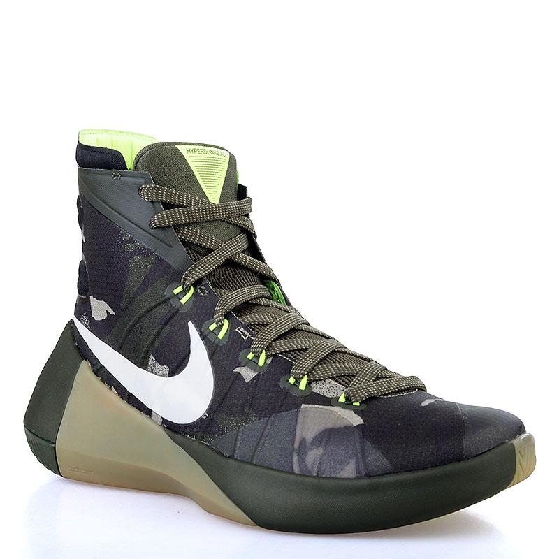 Купить мужские зелёные, салатовые  кроссовки nike hyperdunk 2015 в магазинах Streetball изображение - 1 картинки
