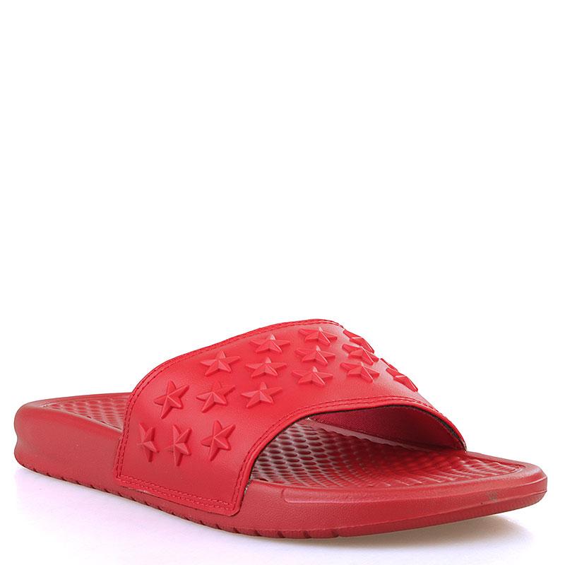 d1f84fb2 мужские красные сланцы nike benassi jdi qs 807909-666 - цена, описание, фото