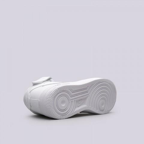Купить женские белые  кроссовки nike wmns air force 1 mid `07 le в магазинах Streetball - изображение 2 картинки
