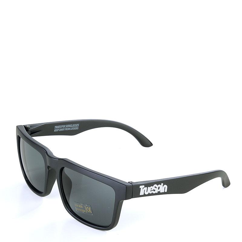 Купить черные  очки true spin smooth в магазинах Streetball изображение - 1 картинки