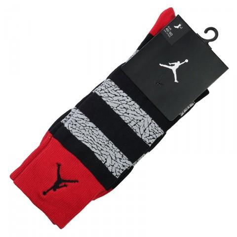 черные, серые, красные  носки jordan elephant striped 647688-695 - цена, описание, фото 1