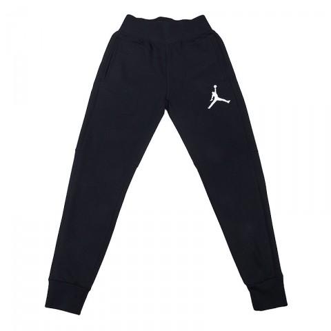 мужские черные  брюки jordan the varsity sweatpant 689016-010 - цена, описание, фото 1