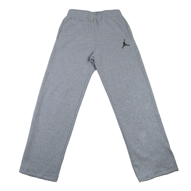 Купить мужские серые  брюки jordan jumpman brushed oh pant в магазинах Streetball изображение - 1 картинки