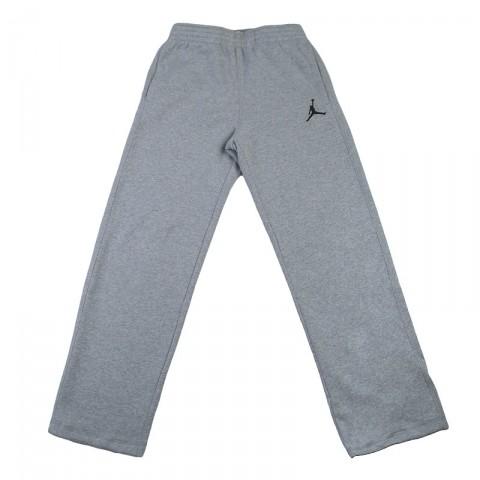 Купить мужские серые  брюки jordan jumpman brushed oh pant в магазинах Streetball - изображение 1 картинки