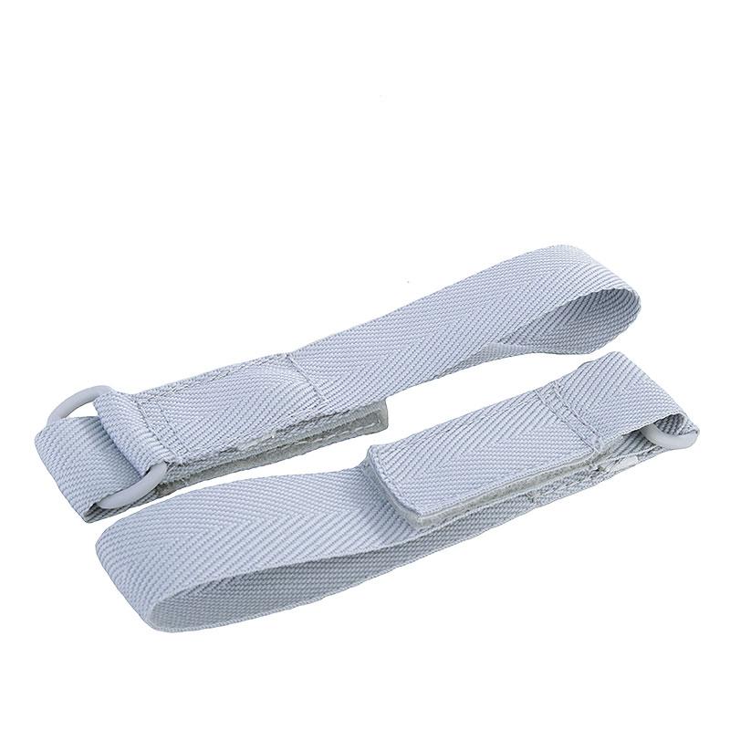 мужские белые, серые  кроссовки nike air force 1 hi retro qs 743546-101 - цена, описание, фото 5