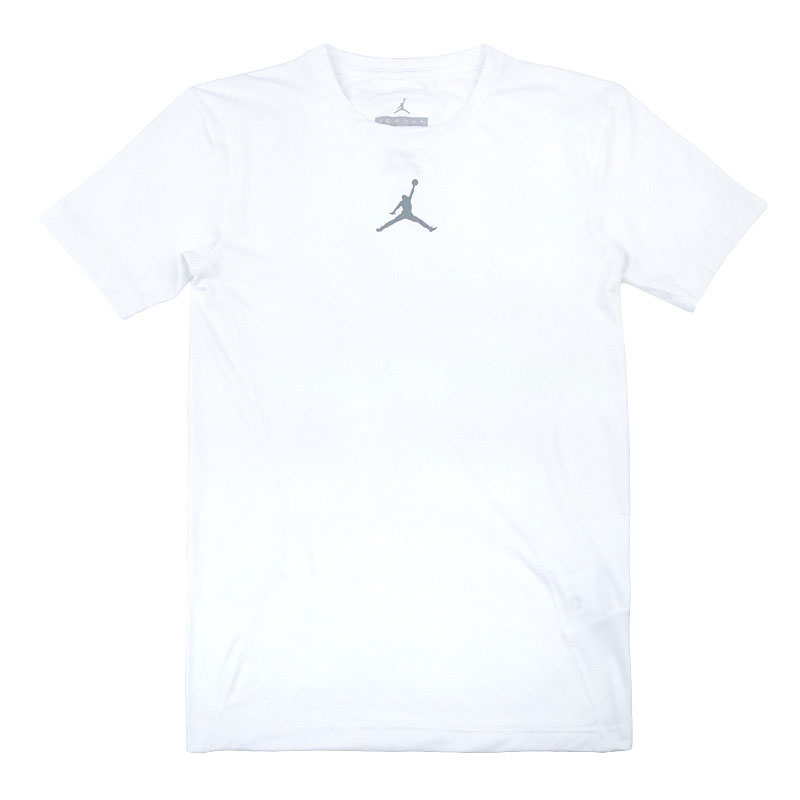 Футболка Jordan All SeasonКомпрессионное белье<br>Полиэстер, эластан<br><br>Цвет: Белый<br>Размеры US: L<br>Пол: Мужской