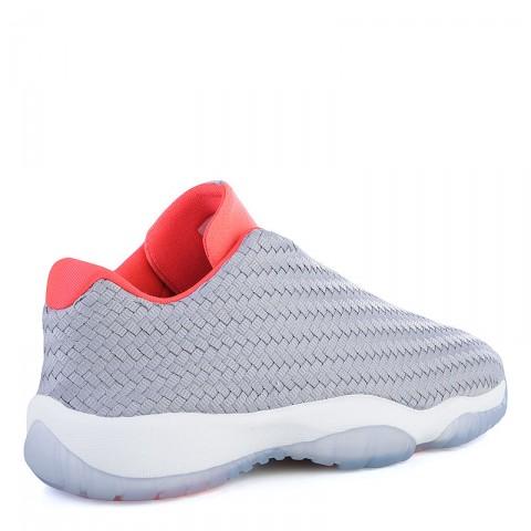Купить женские серые, коралловые  кроссовки air jordan future low bg в магазинах Streetball - изображение 2 картинки