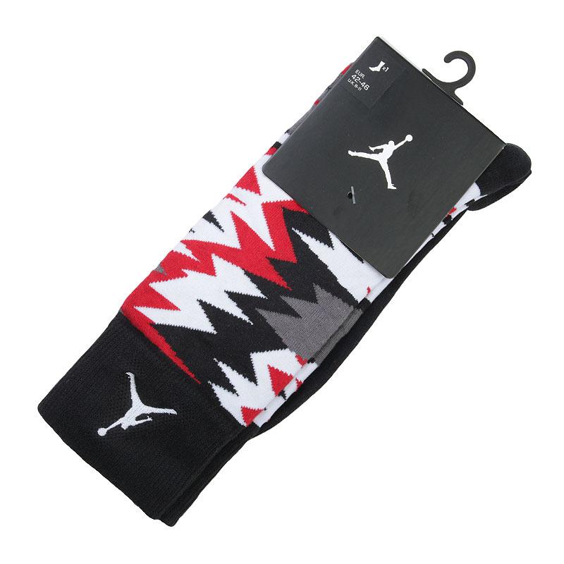 Носки Jordan Air JordanНоски<br>Хлопок, нейлон, эластан<br><br>Цвет: Черный, красный, белый<br>Размеры US: M;XL<br>Пол: Мужской
