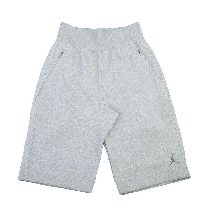 Шорты Jordan Fleece ShortШорты<br>Хлопок, полиэстер, эластан<br><br>Цвет: Серый<br>Размеры US: XL<br>Пол: Мужской