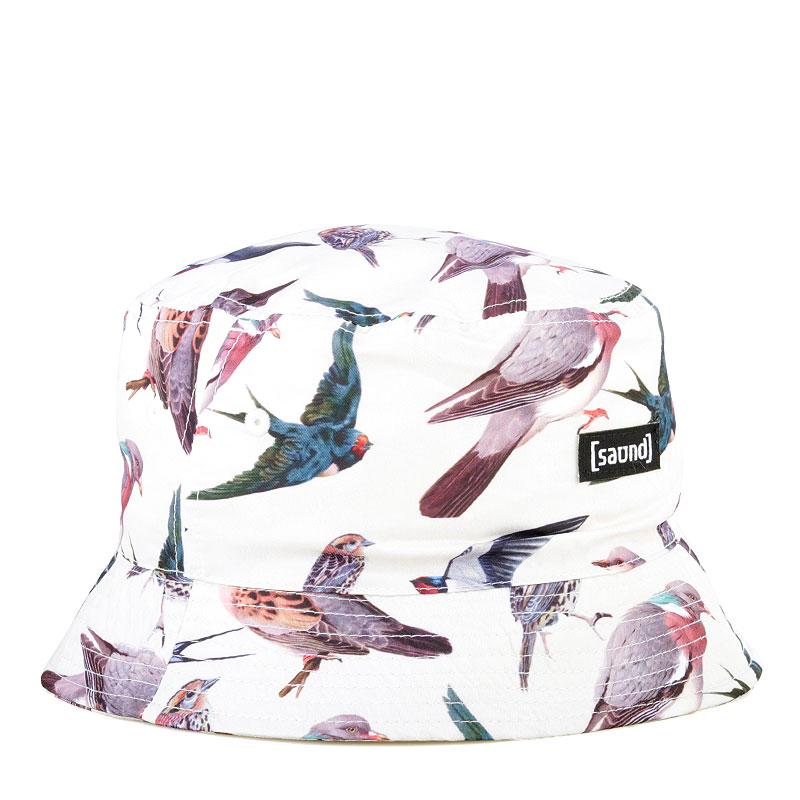 Панама True spin Birdles Bucket HatКепки<br>Полиэстер<br><br>Цвет: Бежевый<br>Размеры : S/M;L/XL