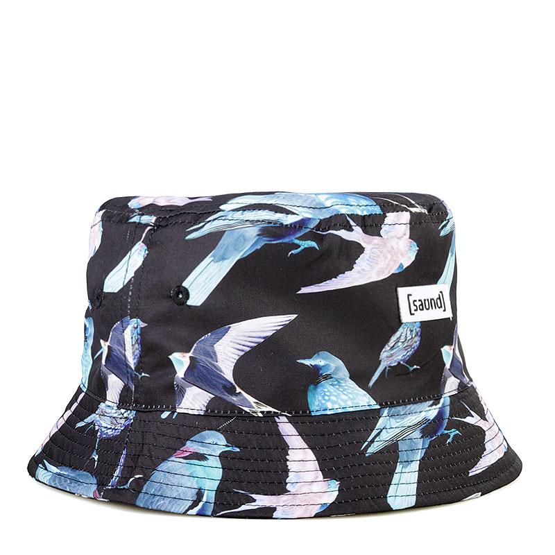 Панама True spin Birdles Bucket HatКепки<br>Полиэстер<br><br>Цвет: Черный, синий<br>Размеры : L/XL;S/M