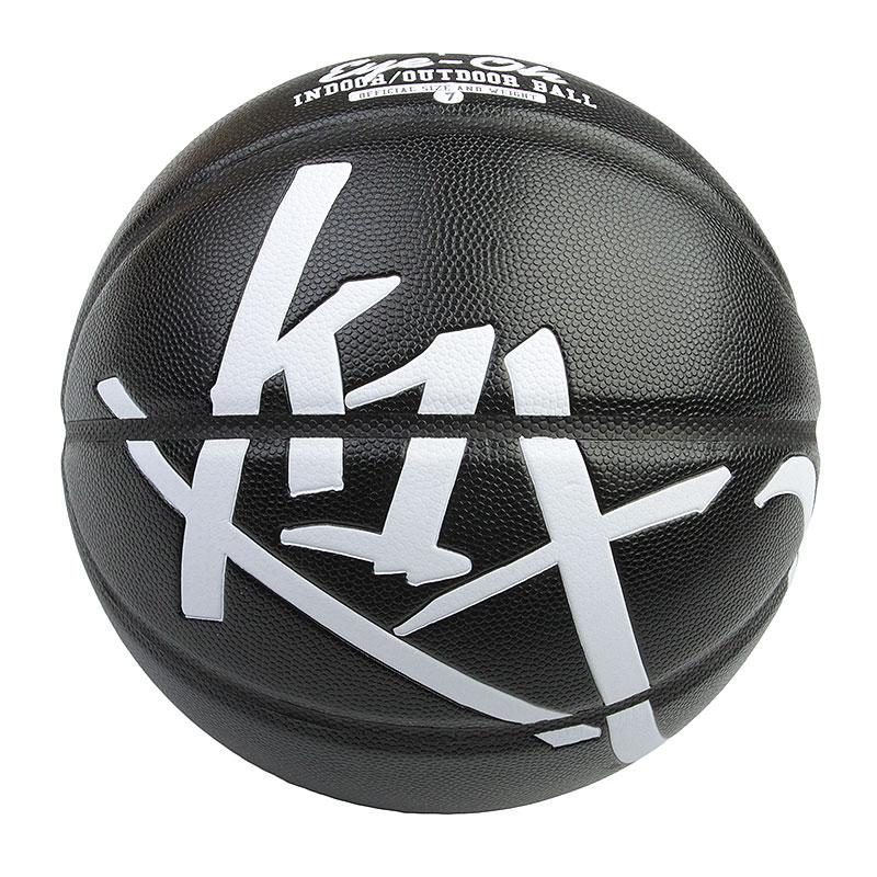 Мяч K1X Eye Oh Bball 7 sizeМячи<br>Композит<br><br>Цвет: Черный, белый<br>Размеры US: 7