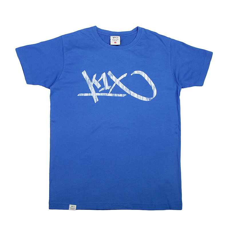 Футболка K1X Tag TeeФутболки<br>Хлопок<br><br>Цвет: Синий<br>Размеры US: S;M;2XL<br>Пол: Мужской