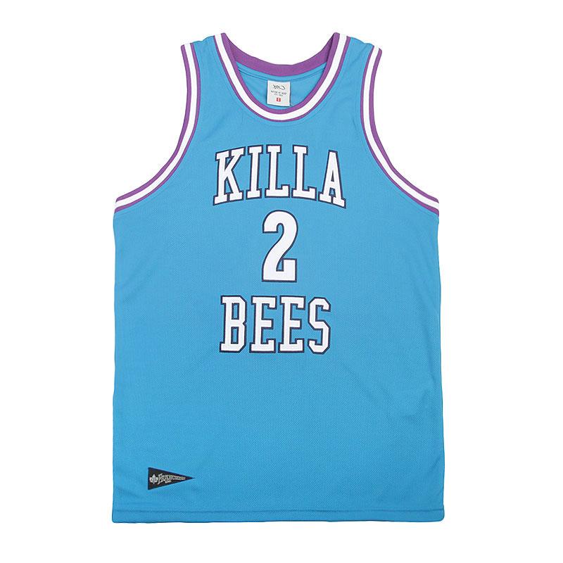 Майка K1X Killa Bees Mesh JerseyБезрукавки<br>Полиэстер<br><br>Цвет: Голубой, белый, фиолетовый<br>Размеры US: S;XL;2XL<br>Пол: Мужской