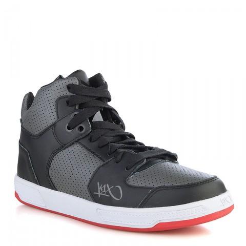 мужские черные, серые, красные  кроссовки k1x lazy high 1000-0236/0826 - цена, описание, фото 1