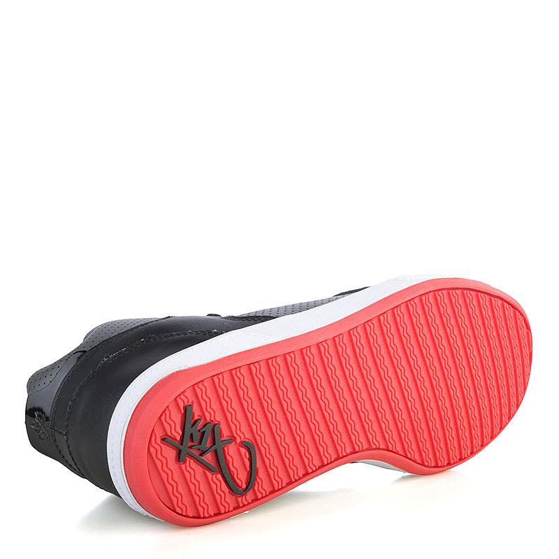 мужские черные, серые, красные  кроссовки k1x lazy high 1000-0236/0826 - цена, описание, фото 4