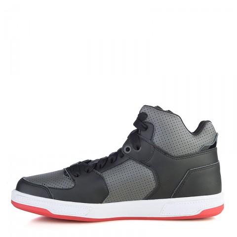 мужские черные, серые, красные  кроссовки k1x lazy high 1000-0236/0826 - цена, описание, фото 3