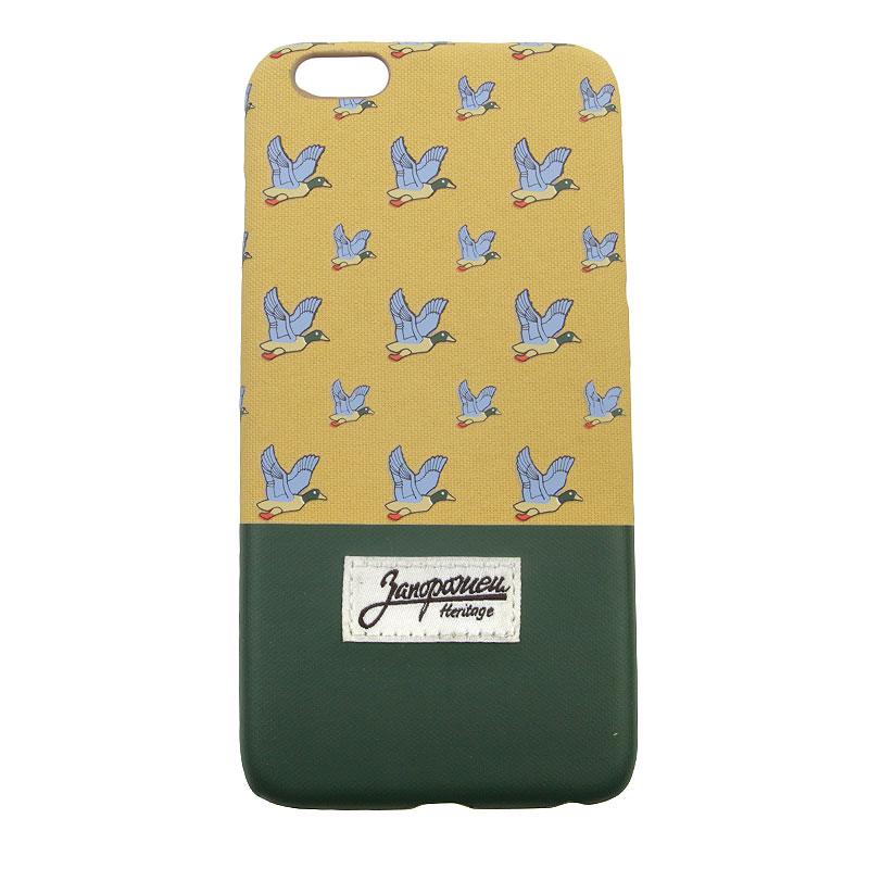 Чехол iPhone 6+ Запорожец heritage ДичьДругое<br>Пластик, текстиль<br><br>Цвет: Бежевый, зелёный<br>Размеры : OS