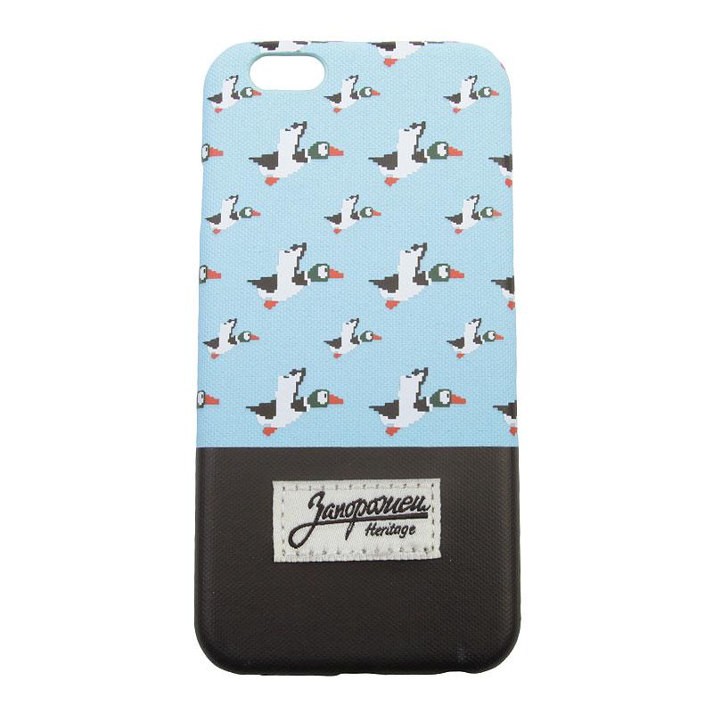Чехол iPhone 6/6s Запорожец heritage Дичь 86Другое<br>Пластик, текстиль<br><br>Цвет: Голубой, коричневый<br>Размеры : OS