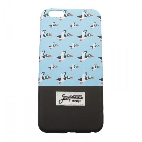 Купить голубой, коричневый  чехол iphone 6+ запорожец heritage дичь 86 в магазинах Streetball - изображение 1 картинки