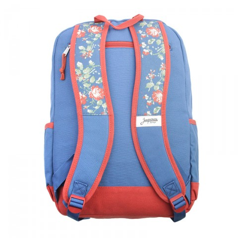 синий  рюкзак запорожец heritage цветочки Цветочки-синий - цена, описание, фото 2