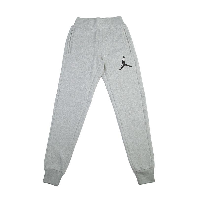Брюки Jordan The Varsity SweatpantБрюки и джинсы<br>Хлопок, полиэстер<br><br>Цвет: Серый<br>Размеры US: S<br>Пол: Мужской
