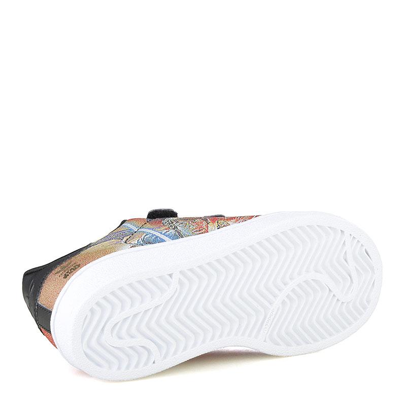 d8fc886a детские черные, белые, красные кроссовки adidas superstar star wars S82764  - цена, описание